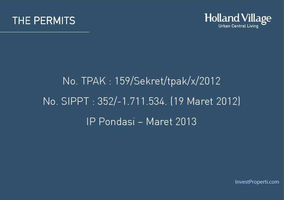 Holland Village Apartemen brosur-33