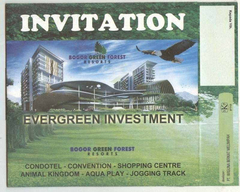 Brosur Condotel Bogor Green Forest 3