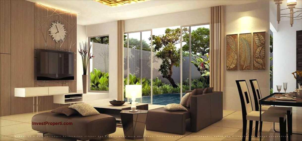 Design interior rumah cluster mayfield 9 greenwich park for Design interior rumah villa