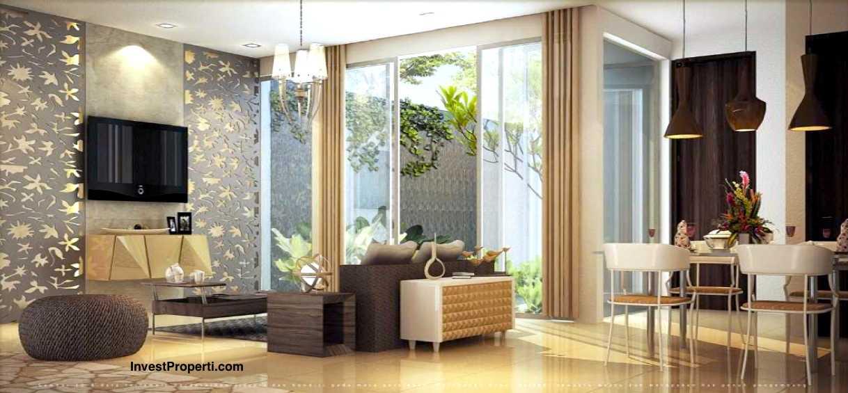 Living room design cluster mayfield 12 greenwich park bsd city for Design interior di jakarta