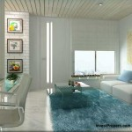 Design Interior Living Room Apartemen Grand Pancoran