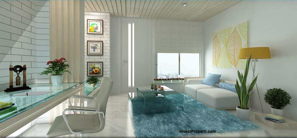 Design Interior Living Room Apartemen Grand Pancoran