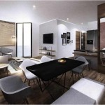 Design Ruang Tamu Apartemen Paddington Heights