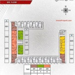 Floorplan lt3 Apartemen Paddington Heights Alam Sutera