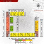 Floorplan lt5-6 Apartemen Paddington Heights Alam Sutera