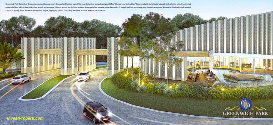 Gerbang Cluster Mayfield Greenwich Park Bsd City