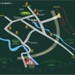 Peta Lokasi Bogor Green Forest