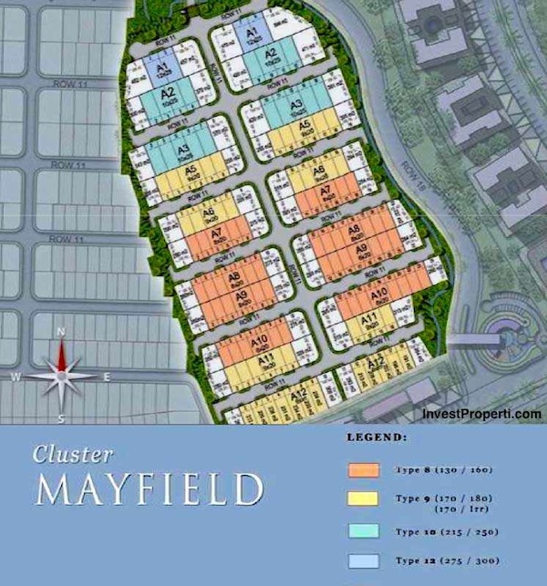 siteplan cluster mayfield greenwich park bsdcity