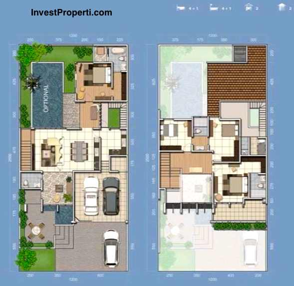 Unit Plan Cluster Mayfield 12 Greenwich Park BSD City