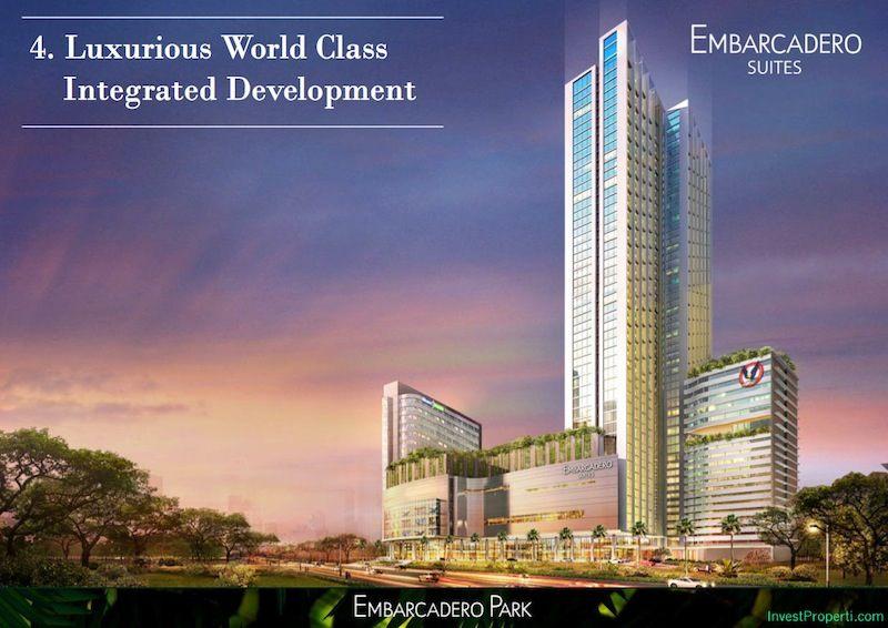 Brosur Embarcadero Suites Apartemen Bintaro 9 hal 6