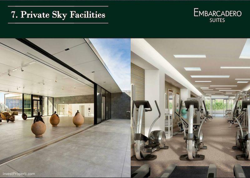 Embarcadero Suites Apartemen Bintaro Facilities