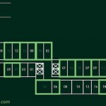 Floor Plan Embarcadero Suites Western dan Eastern Suite
