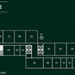 Floor Plan Embarcadero Suites Western dan Eastern Suite Combined