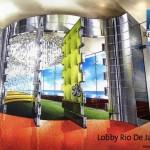 Lobby Apartemen Regatta Tower Rio de Janeiro