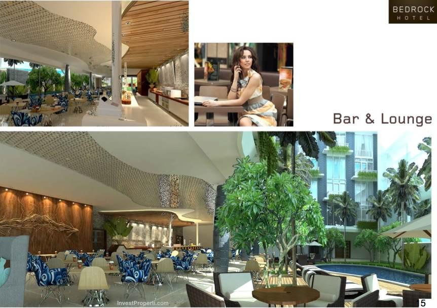 Bar Bedrock Hotel Kuta