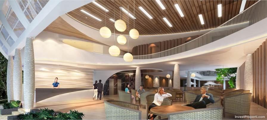 Lobby Bedrock Hotel Kuta
