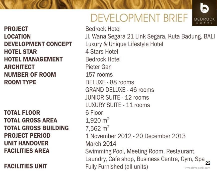 Bedrock Hotel Kuta Dev