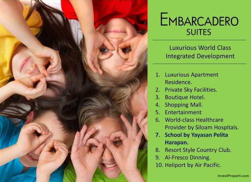 Brosur Apartemen Embarcadero Suites Bintaro 7