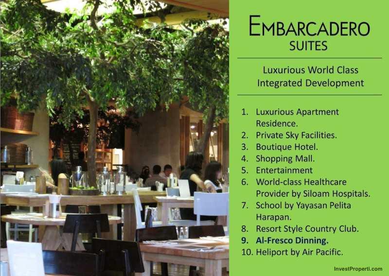 Brosur Apartemen Embarcadero Suites Bintaro 1