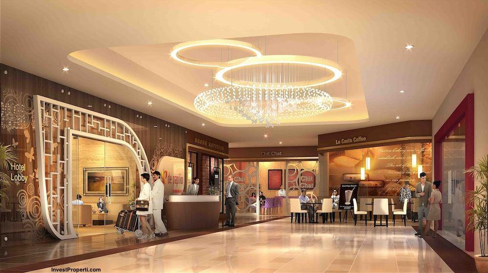 Lobby Design De-Papilio Tamansari Surabaya