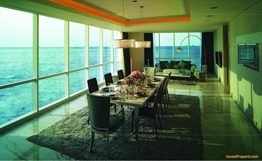 Dining Room Design Regatta Pantai Mutiara Apartment