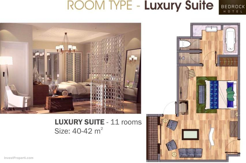 Luxury Suite Room Type Bedrock Hotel Bali