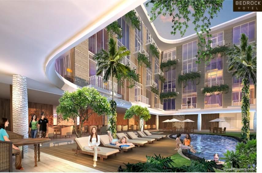 Swimming Pool Bedrock Hotel Bali