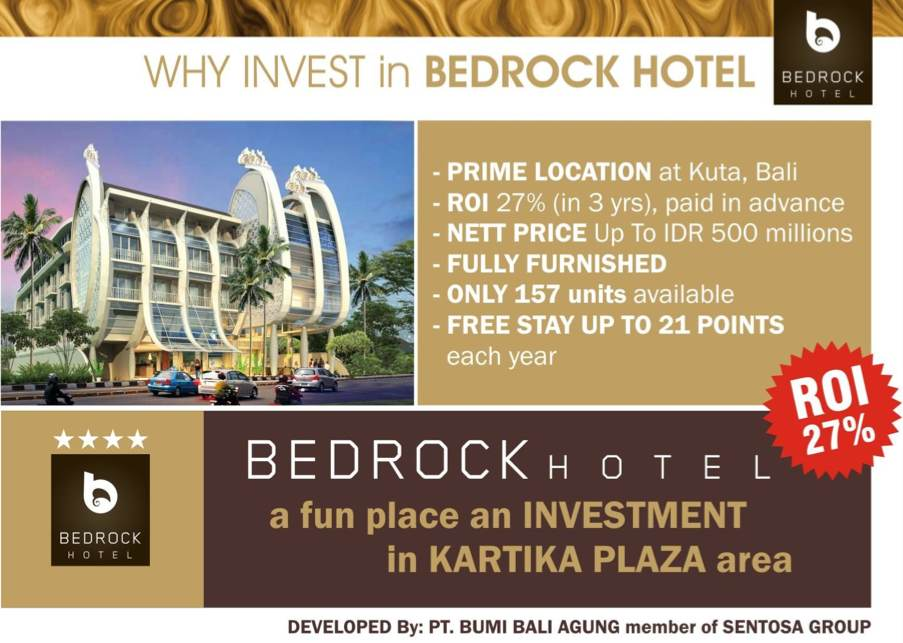 Why Invest in Bedrock Hotel Bali