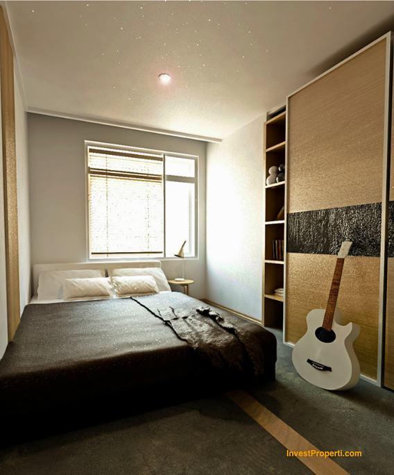 Design Deluxe Room Skyland City Jatinangor Apartment