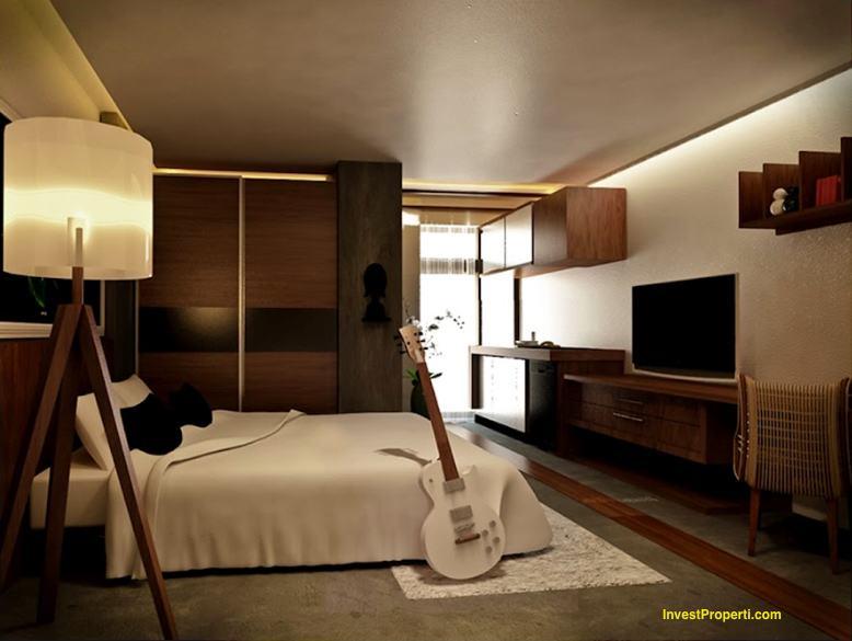 Design Studio Room Skyland City Jatinangor Apartment
