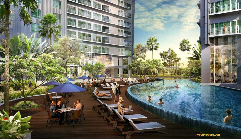 Casa de Parco Apartment Pool