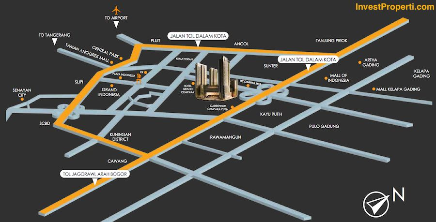 Map Holland Village Office Tower