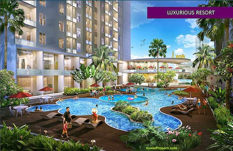 Resort Style Bintaro Icon Apartment