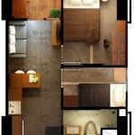 Tipe Unit Deluxe Room Skyland City Jatinangor Apartment