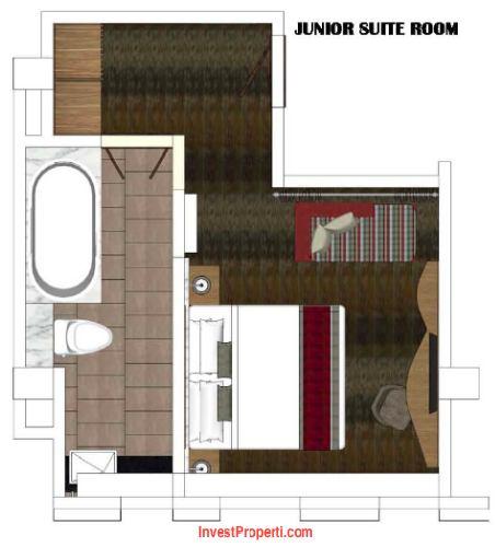 Junior Suite Room Horison Jimbaran Bali