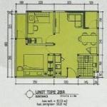 Tipe 2BR Apartemen Bintaro Icon