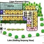 Site Plan Grand Eschol Karawaci Apartment
