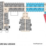 Floor Plan Mercure Legian Bali Condotel Lantai 3