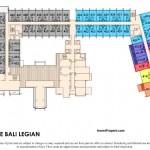 Floor Plan Mercure Legian Bali Condotel Lantai 4