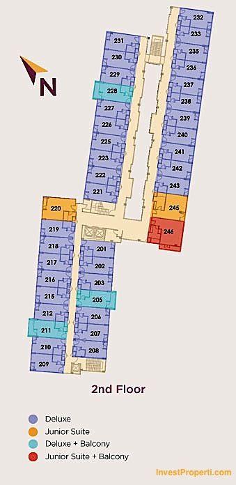 2nd Floor Plan Horison Sunset Road