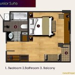Unit Plan Junior Suite Horison Sunset Road