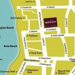 Peta Lokasi Mercure Legian Condotel Bali