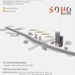 Peta Lokasi SOHO Pancoran Jakarta