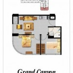 Tipe 2BR Canyon Apartemen Grand Eschol Karawaci