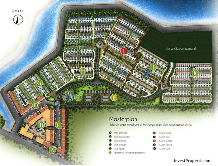 Masterplan Carica Estate