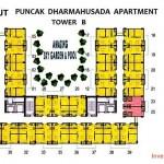 Tower B Apartemen Puncak Dharmahusada