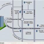 Peta Lokasi Lexington Residence