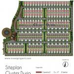 Siteplan Cluster Durio Orchard Park Batam