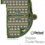 Siteplan Cluster Persea Orchard Park Batam
