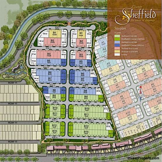 Siteplan Cluster Sheffield Greenwich Park BSD City